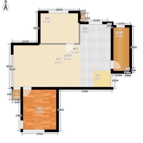 新加坡城2室0厅1卫0厨101.00㎡户型图