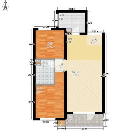 新加坡城2室0厅1卫1厨94.00㎡户型图
