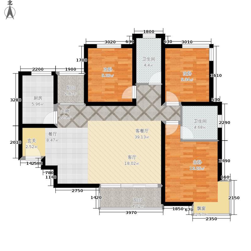 颐和盛世117.63㎡56号楼A1户型