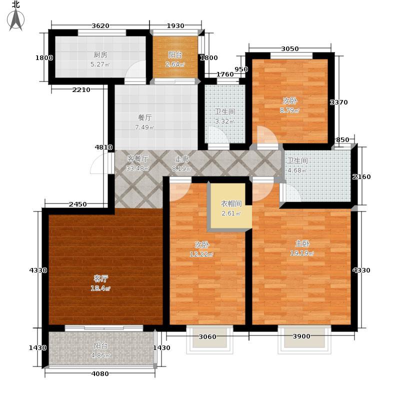 颐和盛世126.00㎡二期23#楼L3户型