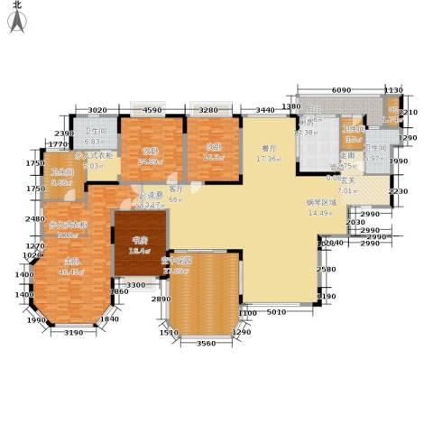 恒大华府4室0厅4卫1厨280.83㎡户型图