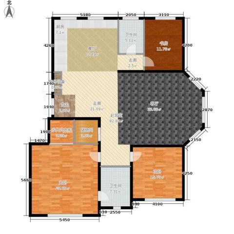 伟业英伦尚城3室0厅2卫0厨215.00㎡户型图