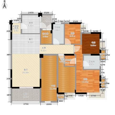 御景天成3室0厅2卫1厨115.00㎡户型图