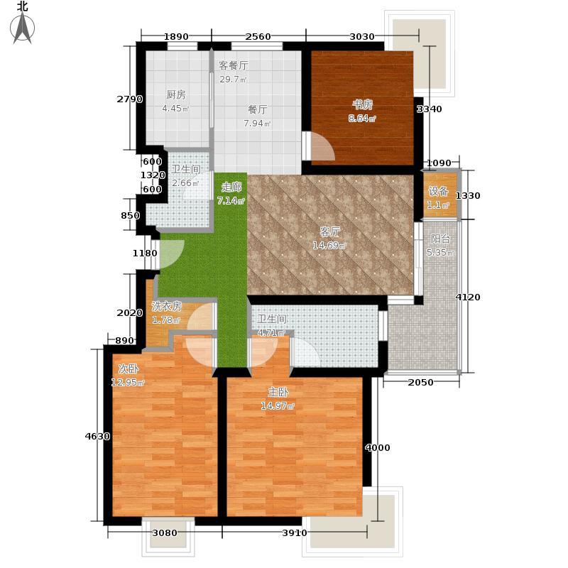 马陆清水湾公寓157.00㎡户型