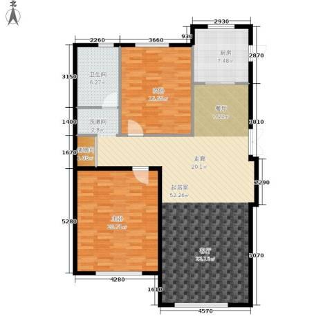 伟业英伦尚城2室0厅1卫1厨141.00㎡户型图