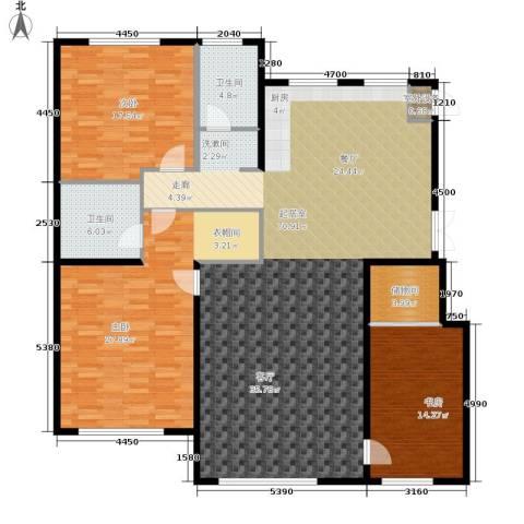 伟业英伦尚城3室0厅2卫0厨198.00㎡户型图