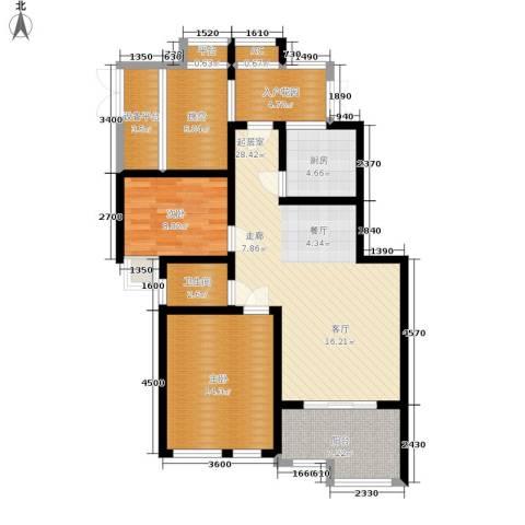 尚格・康桥漫步2室0厅1卫1厨89.00㎡户型图