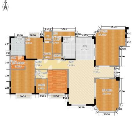 恒大华府3室0厅3卫1厨228.09㎡户型图