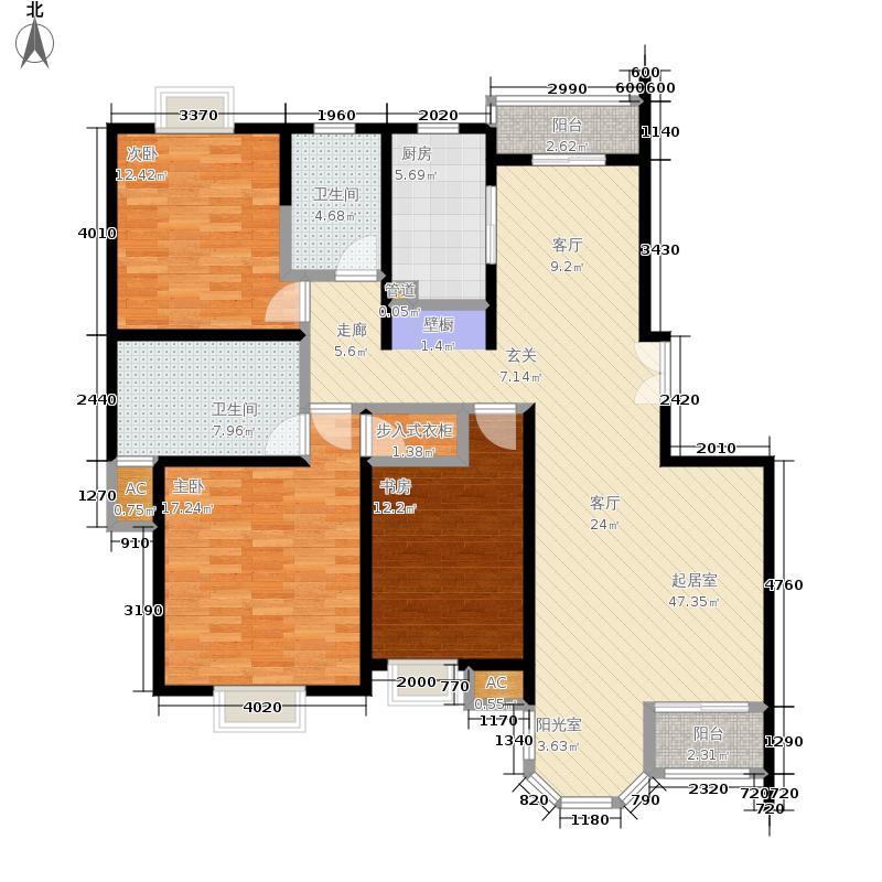 合生城邦三街坊139.00㎡G面积13900m户型
