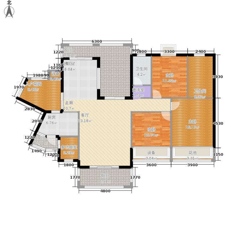 爱加西西里139.68㎡2栋面积13968m户型