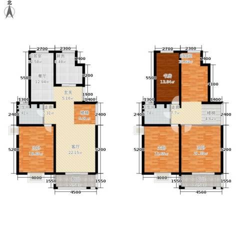 长安华都4室0厅2卫1厨300.00㎡户型图