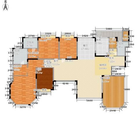 恒大华府4室0厅3卫1厨297.97㎡户型图