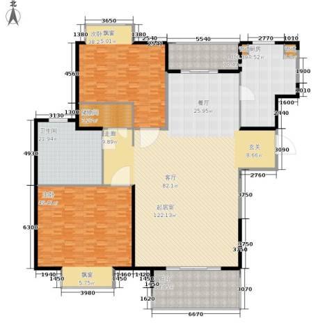 恒大华府2室0厅1卫1厨310.00㎡户型图