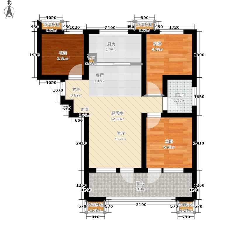 越秀星汇蓝湾越秀·星汇蓝湾B1户型3室2厅