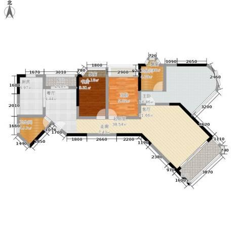 海客瀛洲3室0厅2卫1厨115.00㎡户型图