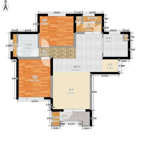 泽天下2室0厅1卫1厨104.00㎡户型图