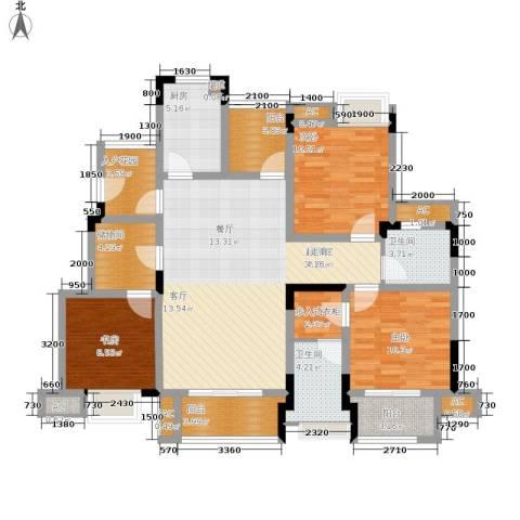 爱情谷3室0厅2卫1厨103.00㎡户型图