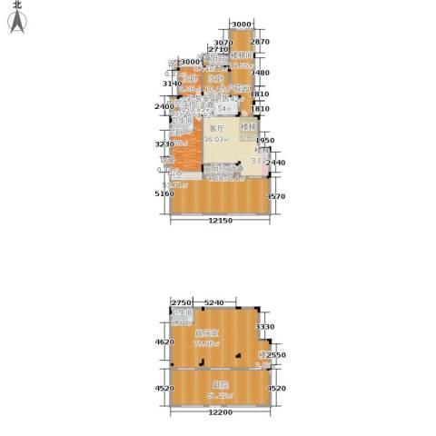 北温泉九号二期森邻海3室0厅3卫1厨360.73㎡户型图