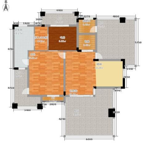 三正卧龙山2室0厅1卫0厨212.00㎡户型图