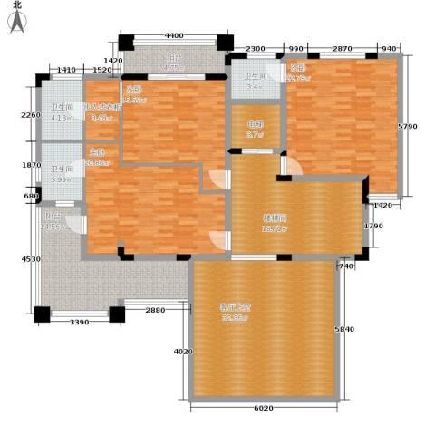 三正卧龙山3室0厅3卫0厨210.00㎡户型图