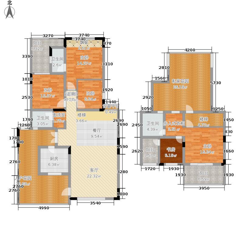 金科10年城159.82㎡A7号楼A-5面积15982m户型