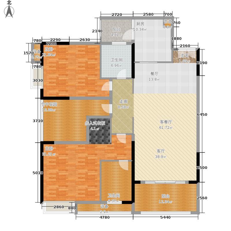 金科visar国际87.42㎡二期2号楼面积8742m户型