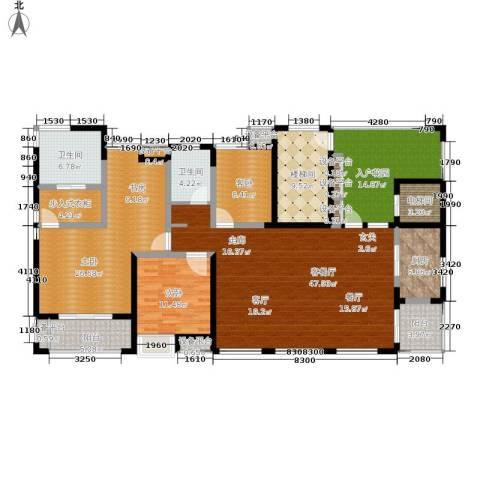 景瑞理想之光3室1厅2卫1厨178.34㎡户型图