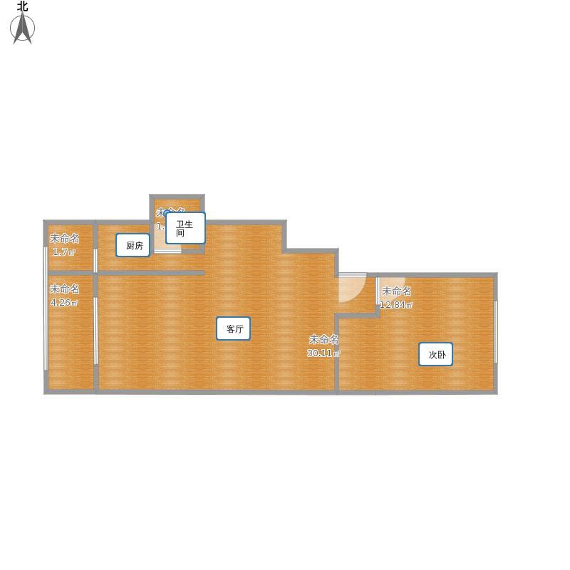 大红门西里-现户型图