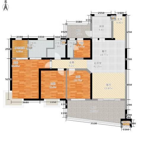 联洋年华4室0厅3卫1厨194.00㎡户型图