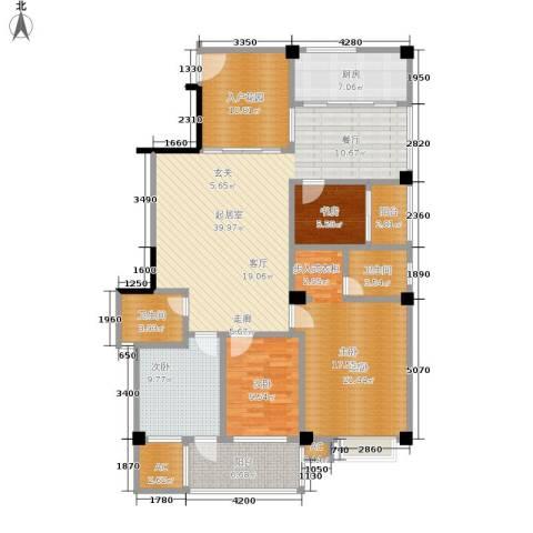 国豪水岸城4室0厅2卫1厨141.00㎡户型图