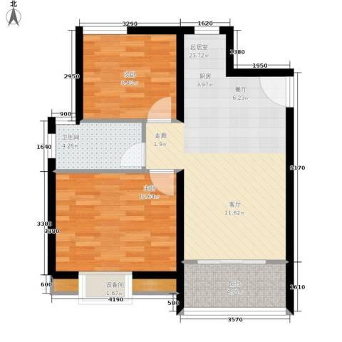 金佛美庐2室0厅1卫0厨70.00㎡户型图