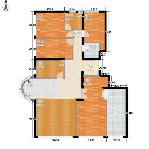 本家润园4室1厅3卫1厨241.00㎡户型图