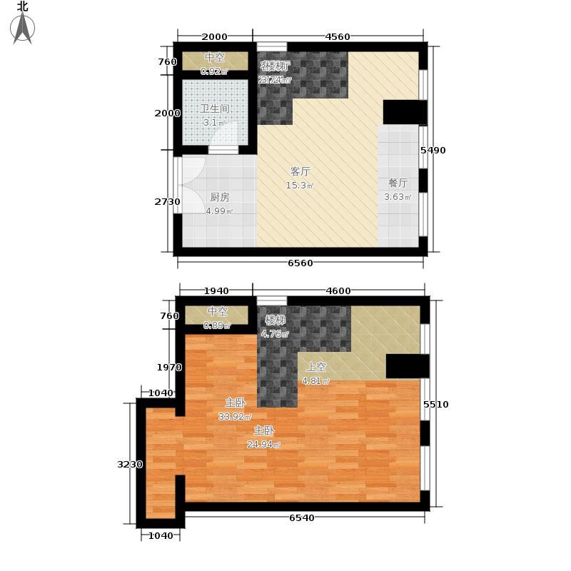海尔云街35.00㎡建筑面积约为自住/投资A1户型