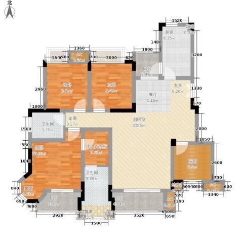 爱情谷3室0厅2卫1厨107.00㎡户型图