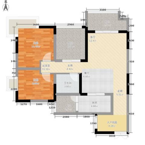 吉安园2室0厅1卫1厨153.00㎡户型图