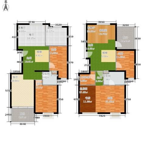马陆清水湾公寓3室2厅2卫1厨247.00㎡户型图