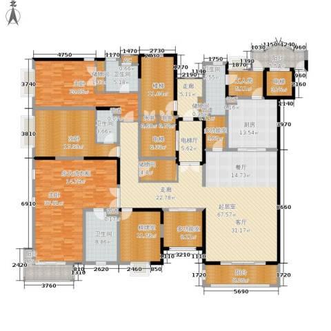 远中风华园3室0厅4卫1厨383.00㎡户型图