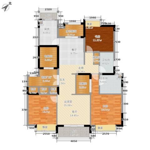 嘉里云荷廷3室0厅2卫1厨139.00㎡户型图
