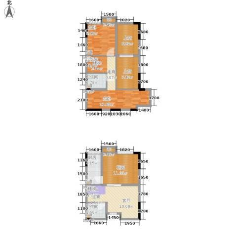 优跃城1室0厅2卫1厨79.00㎡户型图