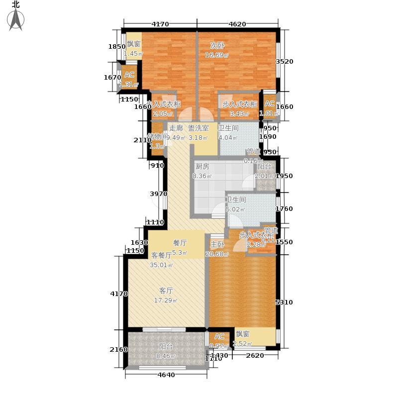 新里西斯莱公馆145.00㎡4#F面积14500m户型