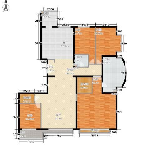 本家润园4室1厅2卫0厨223.73㎡户型图