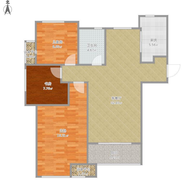 万科城房型图