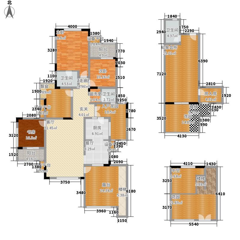 金科10年城143.78㎡A7号楼B-2面积14378m户型