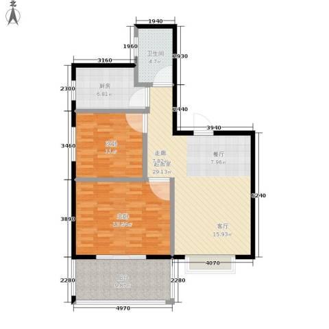 凯旋名都2室0厅1卫1厨111.00㎡户型图