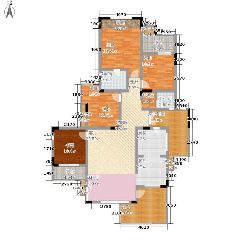 金科10年城138.38㎡A7号楼B-3面积13838m户型