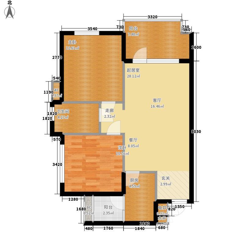 三亚·清平乐三亚清平乐二期A1户型2室2厅