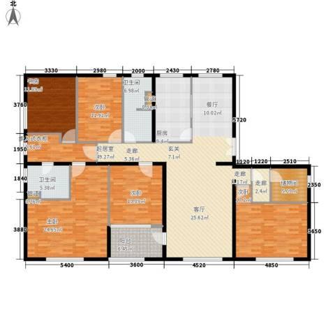 海泰渤龙湾5室0厅2卫1厨212.00㎡户型图