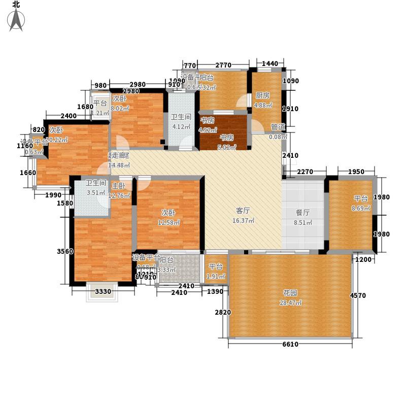 新加坡尚锦城171.00㎡尚中区C3户型4室2厅
