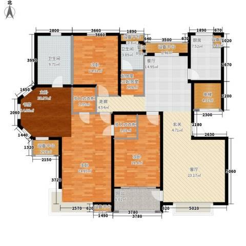 风尚米兰3室0厅2卫1厨230.00㎡户型图