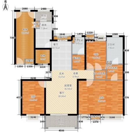 风尚米兰3室0厅2卫1厨216.00㎡户型图